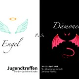 Flyer Engel vs Dämonen