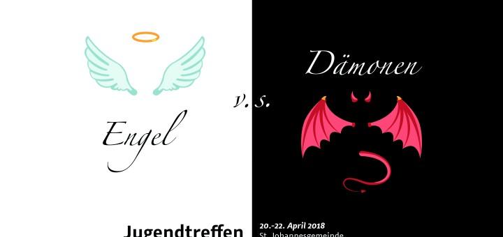 Flyer Engel vs Dämonen
